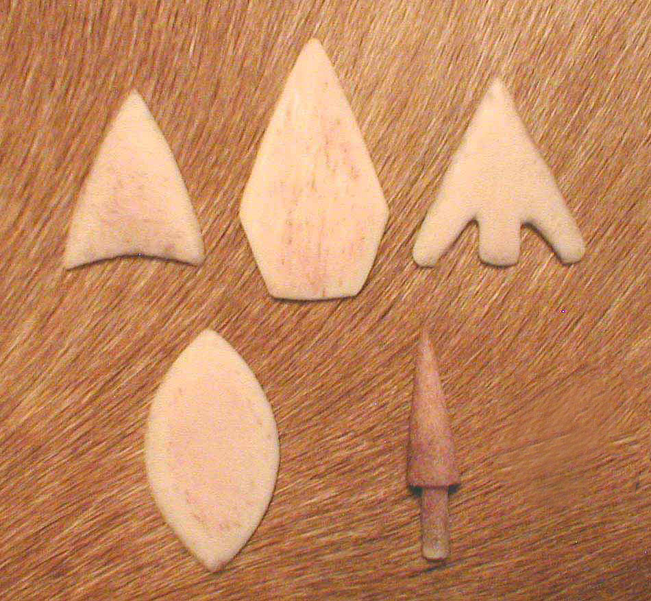 Bone points